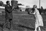 """Nuo majų sugalvoto """"krepšinio"""" iki D.Adomaičio likimo"""