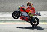 """V.Rossi liko nusivylęs paskutinių savo lenktynių su """"Ducati"""" baigtimi"""