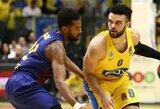 """Maccabi"" namuose privertė kapituliuoti ""Barcelona"" krepšininkus"