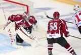 """Rygos """"Dinamo"""" patampė nervus vieniems iš KHL lygos lyderių"""
