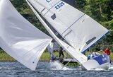 "Trečioji ""Platu25"" taurės regata dalyvius pasitiko 18 m/s vėju"