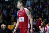 """A.Gudaitis prieš lygos autsaiderius rungtyniavo solidžiai, M.Kuzminskas – """"į minusą"""""""