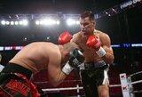Profesionalų bokso ringe pergales skinantis V.Stapulionis kovos Lietuvoje