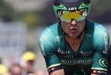 E.Šiškevičius daugiadienėse dviračių lenktynėse Prancūzijoje pranoko G.Bagdoną ir E.Juodvalkį