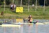 I.Adomavičiūtė įveikė dar vieną barjerą pasaulio jaunimo irklavimo čempionate