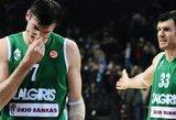 """""""Žalgiris"""" sensacingai pralaimėjo Baltarusijos čempionams"""