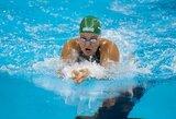 M.Mikalauskas iškovojo pirmą aukso medalį Lietuvai, R.Meilutytė ir vėl liko antra