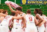 Turkijos šešiolikmečiams – Europos čempionato bronza