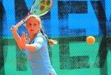 J.Mikulskytė sėkmingai pradėjo dar vieną jaunių teniso turnyrą Izraelyje