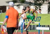 Trys Lietuvos bėgikai liko už Europos jaunimo čempionato finalo borto