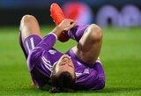 Ir vėl traumuotas G.Bale'as išbrauktas iš Velso rinktinės žaidėjų sąrašo