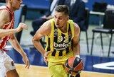 """Drama Stambule baigėsi CSKA pergale po pratęsimo, """"Žalgiris"""" –vienvaldis Eurolygos lyderis"""