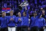 R.Federeris ir A.Zverevas įtvirtino europiečių pergalę prieš pasaulio teniso rinktinę