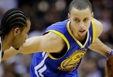 Traumą patyręs S.Curry gali praleisti ketvirtąsias serijos rungtynes