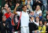 R.Federeris pateko į Vimbldono ketvirtfinalį