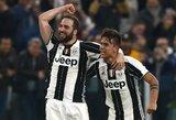 """Dramatiškoje dvikovoje """"Juventus"""" išplėšė pergalę prieš """"Milan"""""""