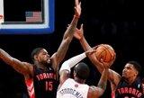 """""""Knicks"""" šešioms savaitėms prarado A.Stoudemire'ą"""