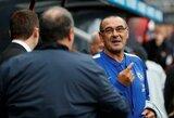 """F.Leboeufas: """"M.Sarri nusipelnė antrojo sezono """"Chelsea"""" gretose"""""""