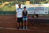 Lietuvos teniso sąjunga paskirstė paramą perspektyviausiems jauniams