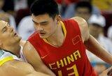"""""""Ar žinote, kad?"""": Didysis Kinijos krepšinio ambasadorius ir aistringas A.Sabonio gerbėjas – Y.Mingas"""