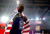 U.Bolto įpėdinis: neseniai pasaulio rekordą pagerinęs amerikietis triumfavo ir planetos čempionate