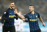 """""""Inter"""" klubo argentiniečiai pasirūpino """"Lazio"""" ekipos sutriuškinimu"""