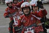 """""""Mildos"""" motobolininkai iš Baltarusijos grįžta nepralaimėję"""