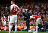 """TOP4 tolsta: lygiosiomis sužaidę """"Arsenal"""" nepasinaudojo galimybe prisivyti """"Tottenham"""""""