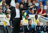 """Vos 259 sekundes trukusi J.Mourinho spaudos konferencija: apie P.Pogbos žodžius ir santykius su E.Woodwardu bei rungtynes su """"Tottenham"""""""