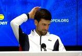 """Geriausias planetos tenisininkas vyks į """"US Open"""" turnyrą: """"Pasveikau ir esu pasiruošęs"""""""