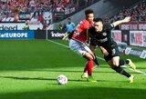 """Tirpstanti Čempionų lygos svajonė: """"Eintracht"""" patyrė dar vieną pralaimėjimą Vokietijoje"""