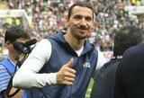 Z.Ibrahimovičius išskyrė visų laikų geriausią savo įvartį
