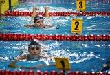 B.Statkevičienė iškovojo ketvirtąjį Europos meistrų plaukimo čempionato medalį