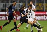 """Vietoje rungtynių be sirgalių pasirinkta nukelti penkerias Italijos """"Serie A"""" rungtynes"""