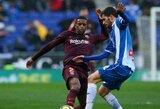 """""""Espanyol"""" ir """"Valencia"""" komandų akistatoje – užtikrinta šeimininkų pergalė"""