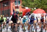 """Dviratininkė R.Leleivytė prestižinėse """"Giro Rosa"""" lenktynėse pakilo į šeštą vietą"""