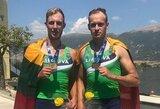 Europos jaunimo irklavimo čempionate – lietuvių bronza