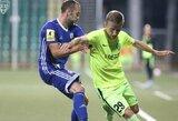E.Jankauskui sezonas Slovakijoje prasidėjo ne itin sėkmingai, Kazachstane žaidžiantys lietuviai pralaimėjo