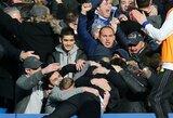 """Pamatykite: """"Arsenal"""" gynybą pažeminantis E.Hazardo įvartis ir beprotiškas A.Conte šventimas"""