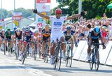 E.Juodvalkis antrąjį dviračių lenktynių Belgijoje etapą baigė 23-ias