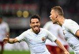 """""""Serie A"""": """"Roma"""" sutriuškino lygos autsaiderius"""