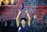 Kylančių vyrų teniso žvaigždžių turnyro finale – H.Chungo triumfas