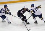 Pasaulio ledo ritulio čempionate – svarbios amerikiečių ir čekų pergalės
