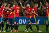 Ispanijos rinktinė paskelbė sudėtį ateinančioms rungtynėms birželį