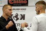 KOK turnyro svėrimai: H.Vikšraitis ir M.Narauskas viršijo svorį, tačiau bendru sutarimu kovos dėl čempiono diržo