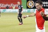 """""""Monaco"""" pergalės kalviu tapo J.Moutinho, """"Napolli"""" nugalėjo graikų klubą"""