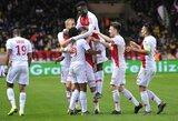 """Prancūzija: """"Lyon"""" įveikę """"Monaco"""" iškovojo antrą pergalę iš eilės"""