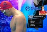 Galingo finišo neužteko: D.Rapšys nepavijo pasaulio čempiono