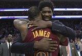 """J.Embiido pasiūlymas L.Jamesui: vietoje """"Lakers"""" keltis su D.Jordanu į """"76ers"""""""