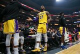 """Puikiai gynyboje žaidusi """"Lakers"""" laimėjo Sakramente"""